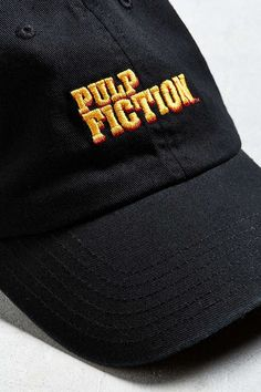 Pulp Fiction Dad Hat Dad Hats, Pulp Fiction, Urban Outfitters, Dads, Beanie, Embroidery, Stitch, Cotton, Shopping