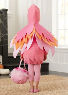 flamingo - back · Bird Costume KidsBird ... & How to Make a Pink Flamingo Halloween Costume | Pinterest ...