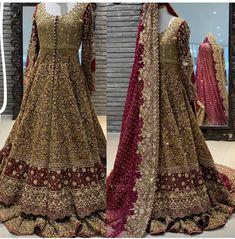 Desi Wedding Dresses, Asian Bridal Dresses, Simple Pakistani Dresses, Indian Bridal Outfits, Latest Bridal Lehenga, Designer Bridal Lehenga, Pakistani Bridal Dresses, Lehenga Choli With Price, Eastern Dresses