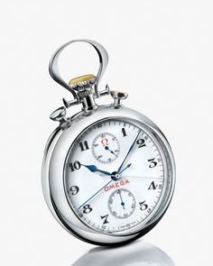 OMEGA Watches: Specialities Olympic Pocket Watch 1932 - White gold on white gold - 5110.20.00