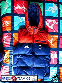 Adidas team gb issue -training for rio 2016 - #athlete padded #'puffa' #hooded ve,  View more on the LINK: http://www.zeppy.io/product/gb/2/191983844073/