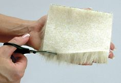 How to Sew Faux Fur - great tips. Lots of faux sewing tips apply to real fur too. I will check it out :)