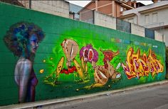 Caktus e Maria - Italian Street Artists - San Nicandro Garganico (IT) - 09/2014 -  \*/  #caktusemaria #streetart
