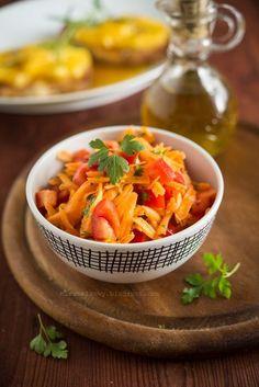 surowka z marchewki i papryki