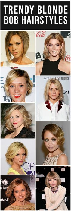 Thinking of going blonde, blonder and blondest this summer? Now's the right time to do it. Ahead is our list of blonde bob hairstyles for you to check out! Look on to know more