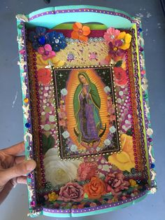 A personal favorite from my Etsy shop https://www.etsy.com/listing/477208483/reservedupcycled-mexican-art-our-last-of