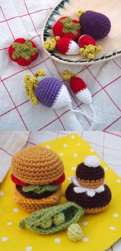 dinette en crochet                                                                                                                                                                                 Plus