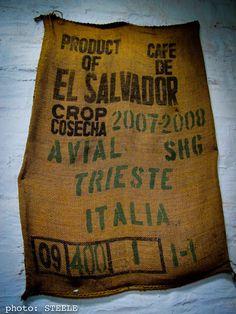Cosecha Sacks, Burlap, Reusable Tote Bags, Country, El Salvador, Harvest, Hessian Fabric, Rural Area, Country Music