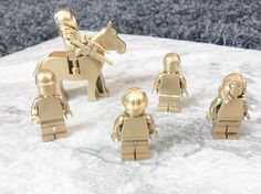 Oh the creative possibilities. Learn how to make your own rare GOLD LEGO Minifigures in just minutes! Such an easy DIY Project that can turn into a fun craft.