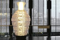 Dirk Vander Kooij   Creating Interior Art This vase was designed by Dirk for the New Babylon project in The Haque. Was so nice to work with him. He's one of the best 'dutch designers' Holland has!