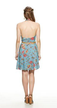 Só na Antix Store você encontra Vestido Floral Abelhas com exclusividade na internet