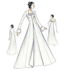 FS703 | Marfy Bridal Gown | Bridal | Vogue Patternshttp://voguepatterns.mccall.com/fs703-products-7087.php?page_id=877