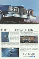 Ford LTD Brougham with Options 1974 Ad Picture