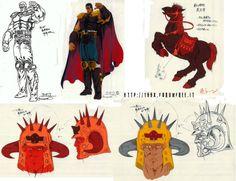 Artworks e Settei da Hokuto No Ken – The Movie   HOKUTO NO KEN