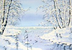 Lumen valo-Akvarelli