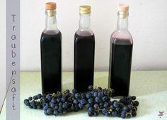 Traubensaft selber machen aus Weintrauben