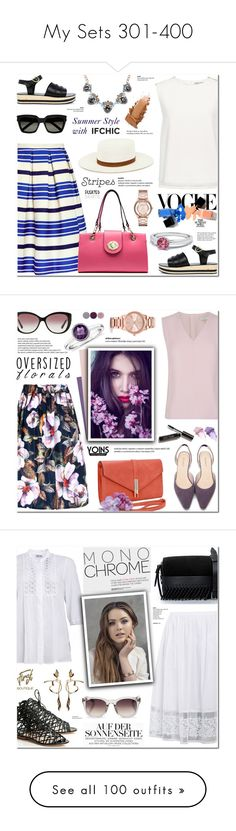 """""""My Sets 301-400"""" by anyasdesigns ❤ liked on Polyvore featuring Paul & Joe Sister, Ancient Greek Sandals, Edit, Finders Keepers, Yves Saint Laurent, JAY. M, Marc Jacobs, Tiffany & Co., Ted Baker and Bulgari"""
