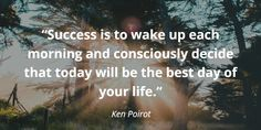 Time for some motivation 🕖 Author Ken Poirot reminds us how important it is to wake up motivated each morning, ready to seize the day 💪 Lucky Quotes, Seize The Days, Wake Up, Motivational Quotes, Success, Author, Good Things, Life, Inspiration