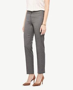 #Valentines #AdoreWe #Ann Taylor - #Ann Taylor Ann Taylor The Petite Ankle Pant In Sharkskin - Kate Fit - AdoreWe.com