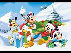 christmas winter collection mix from classic cartoons