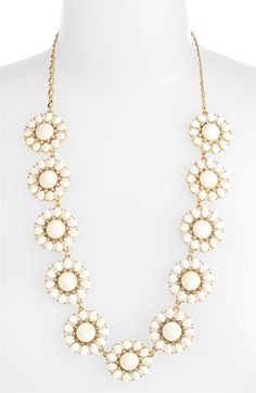 kate spade new york 'glossy garden' long necklace