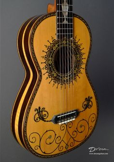 1995 Boaz Guitars Baroque - Concert, Renaissance, Early Instruments Classical Guitar - Boaz Baroque Guitar