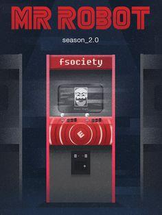 #MrRobot 2.0 - Arcade