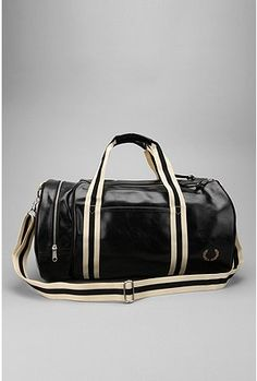 Fred Perry Contrast Barrel Bag