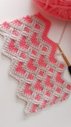 Crochet Box Stitch, Crochet Stitches For Beginners, Crochet Stitches Patterns, Stitch Patterns, Knit Stitches, Knitting Patterns, Crochet Heart Blanket, Baby Afghan Crochet, Crochet Quilt