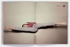 Read more: https://www.luerzersarchive.com/en/magazine/print-detail/adidas-28915.html adidas Copy in fold: Ballet sweat / track pant. Tags: adidas,TBWA, Hong Kong,Karen Lai,Simon Handford,Marco Sacchi,Henry Chan