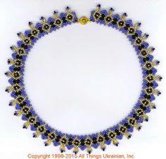 AllThingsUkrainian.com gherdany Bead Jewelry  # GN15156