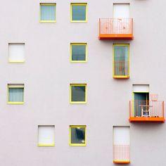 Matthieu Venot l 2015 Colour Architecture, Architecture Details, Interior Architecture, Sketch Architecture, Matthieu Venot, Fotografia Vsco, Appartement Design, Minimal Photography, Modern Buildings