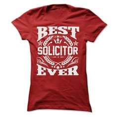(Males's T-Shirt) BEST SOLICITOR EVER T SHIRTS - Buy Now