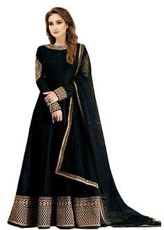 Banglori Silk Anarkali Semi-Stitched Gown For Women – Infotech Choli Designs, Lehenga Designs, Long Gown Dress, Dress Up, Party Wear Long Gowns, Anarkali Gown, Anarkali Suits, Lehenga Choli, Gown Pattern