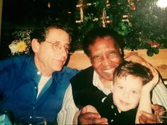 #TBT this is me with our Angel Aggie and my oldest Grandson who is now 19