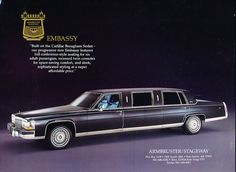 1986 Armbruster Stageway Cadillac Limousine