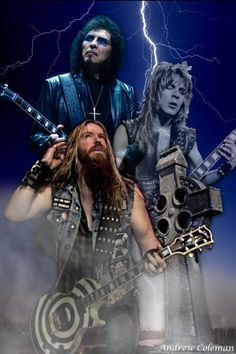 Tony Iommi,Zakk Wylde,and Randy Rhoads.................