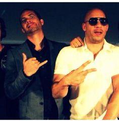 Paul Walker & Vin Diesel