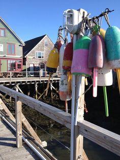 Port Clyde Buoys