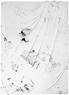 Marianna Uutinen, String, 2013, Acryl auf Leinwand, 180 x 130 cm