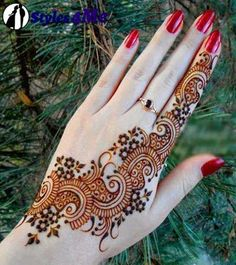 Latest & Simple Mehndi Designs Collection 2014 For Girls | Styles4Me