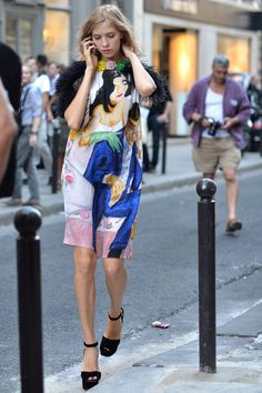 Paris Street Fashion - Summer Street Fashion in Paris - Elle