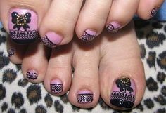 lace toe nail art Some great toe nails art design ideas 3d Nail Art, Line Nail Art, 3d Nails, Cute Nails, Pretty Nails, Pretty Toes, Pretty Pedicures, Beautiful Toes, Beautiful Images
