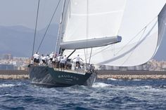 2 Wally's will compete in the #SYC15 this June: last year's entrant Saudade & Open Season, 2015 Palma Vela #winner!