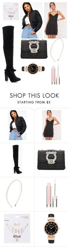 """""""Gatsby Noir"""" by lolita061 on Polyvore featuring Forever 21, Physicians Formula and Charlotte Russe"""