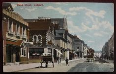 1907: Nalder & Collyer's 'Market Hotel', Bank St, Ashford, Kent. I worked here as a barman in the seventies (1970s!).