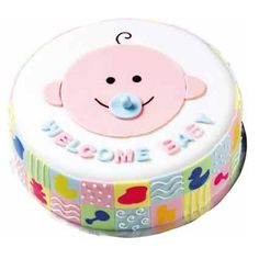 Welcome, Little One Cake