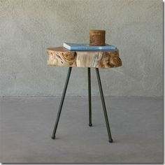 Alison Occasional Table - Alison Occassional Table - This elegant occasional table is hand crafted in California with beautiful Maple hardwood harvested from the forests of Oregon.  15-17 dia x 17 H inches, Free Delivery!