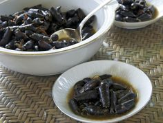 Indonesian Medan Food: Siput (Spicy Water Snail)