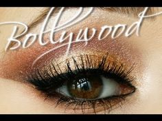 bollywood inspired makeup, so beautiful